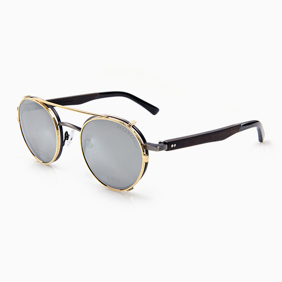 KURO vintage silver & Clip-On g black(m)