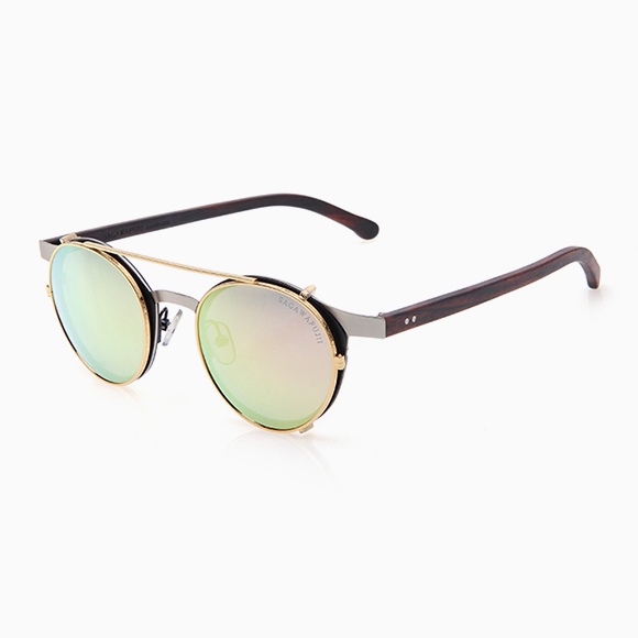 YONA silver & Clip-On gold pink (m)
